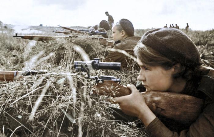 С чем воевали советские снайпера.