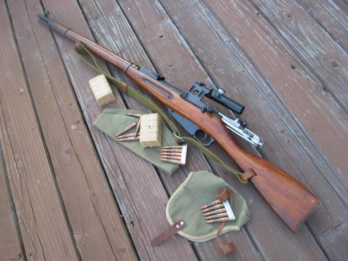 Собственно, винтовка Мосина.