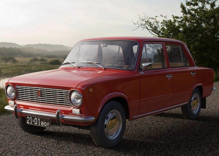 Автомобиль ВАЗ 2101.