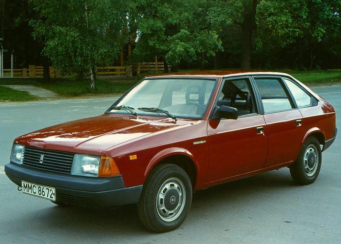 Автомобиль Москвич 2141.