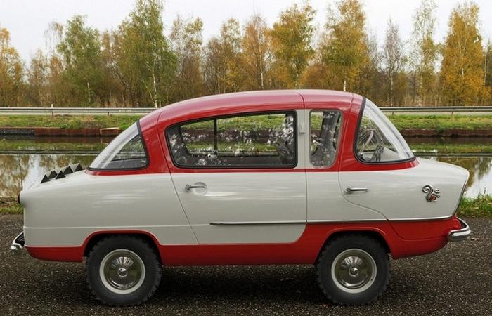 Автомобиль Белка.