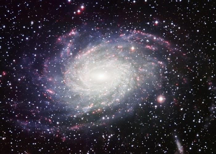 Раскаленная оболочка вокруг Млечного Пути.