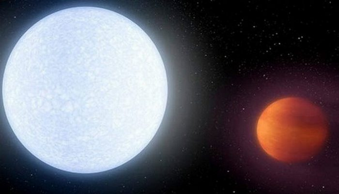 Космосвежачок: планета Kelt-9b горячее звезды.