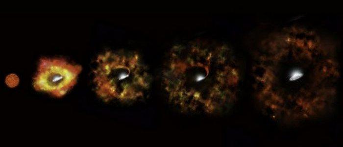 Космосвежачок: тихая сверхновая N6946-BH1.