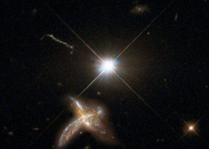 Космосвежачок: ускоренное развитие галактик.