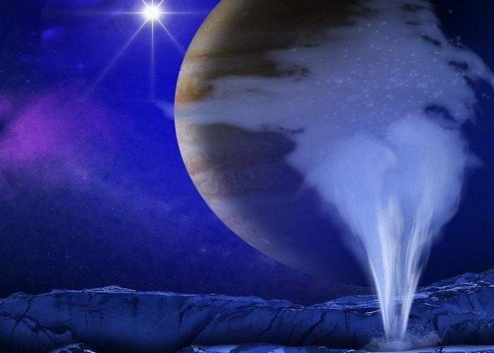 Вода может чудесным образом плавать в космосе.