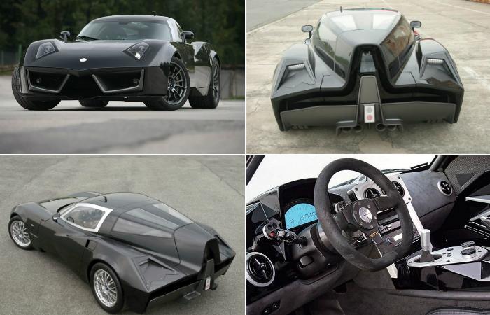 Суперкар с «купированным хвостом» для ценителей стиля и любителей быстрой езды.