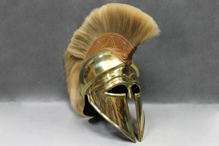 Реконструкция шлема. ¦Фото: lawranceordnance.com.