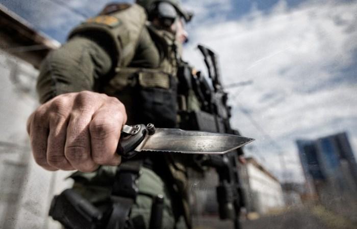 Ножи российского и советского спецназа.