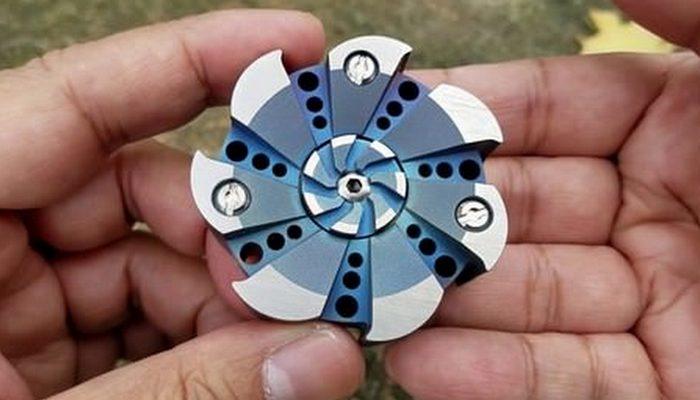 Спиннер «Metal Worn Turbine Hand Spinner v2 and V3».