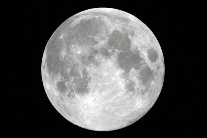 Луна как объект столкновений.