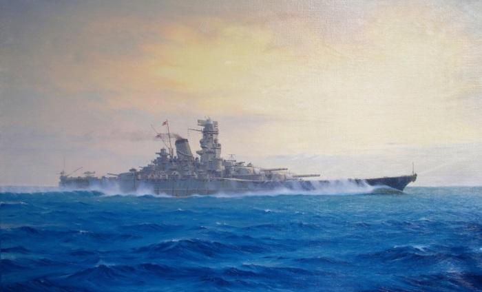 Всего было построено два корабля класса «Ямато».