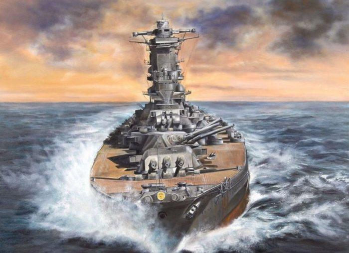 Суперлинкоры класса «Ямато» были уязвимы для торпед, но очень быстро плавали.