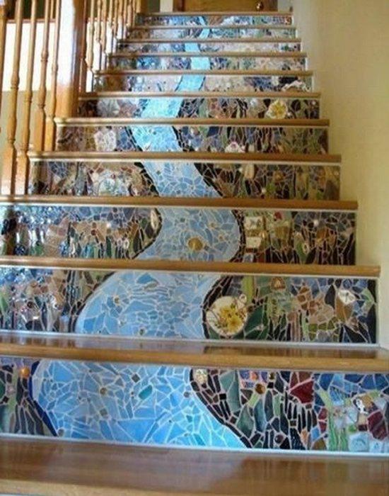 Арт-объект «Лестница в небо».