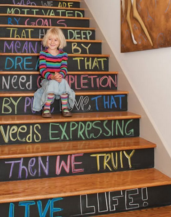Арт-объект «Лестница Lifestyles & Homes».