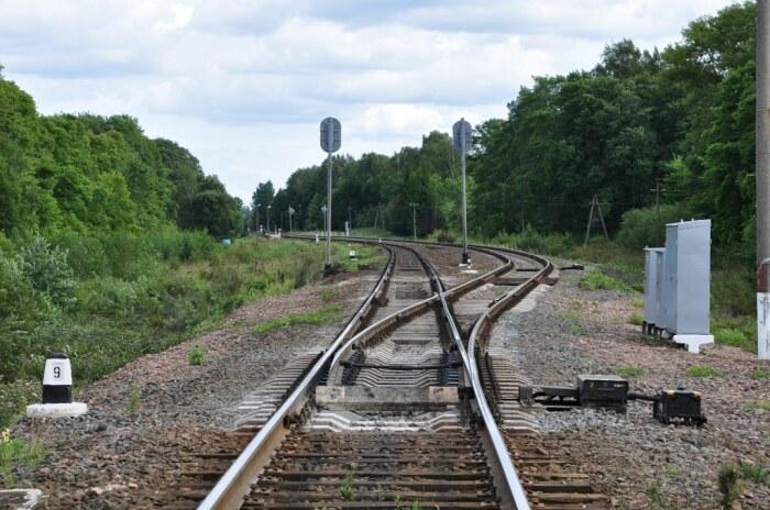 Разъезд имеет дополнительное ответвление. |Фото: railwayz.info.