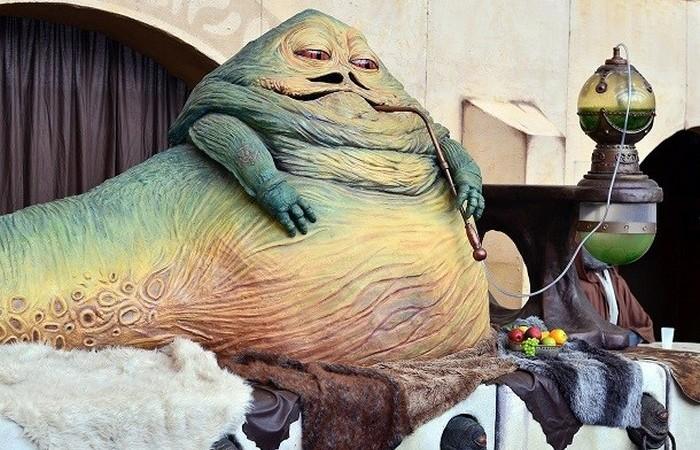Джаббу Хатта весит 1 тонну.