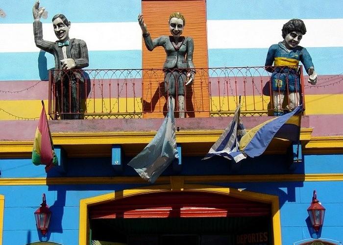 Статуя Аргентинские иконы.