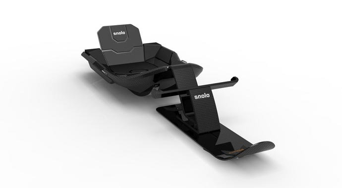 Санки Stealth-X от Snolo Sleds.