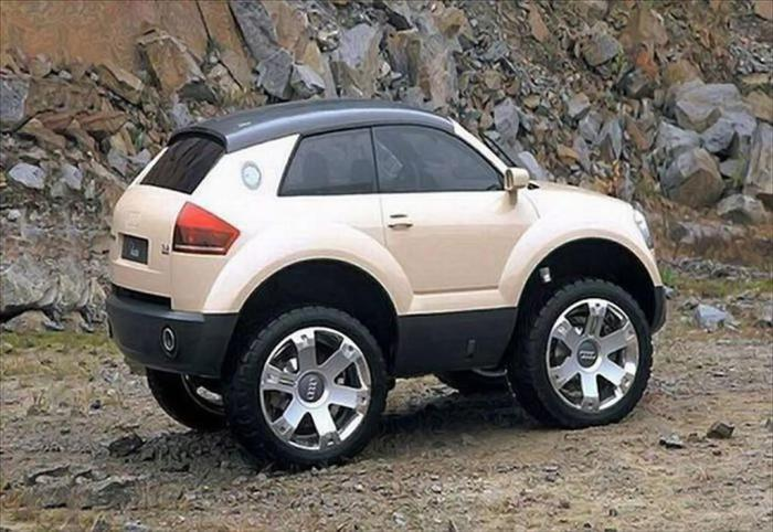 Мини-Audi Smaudi A3 AWD