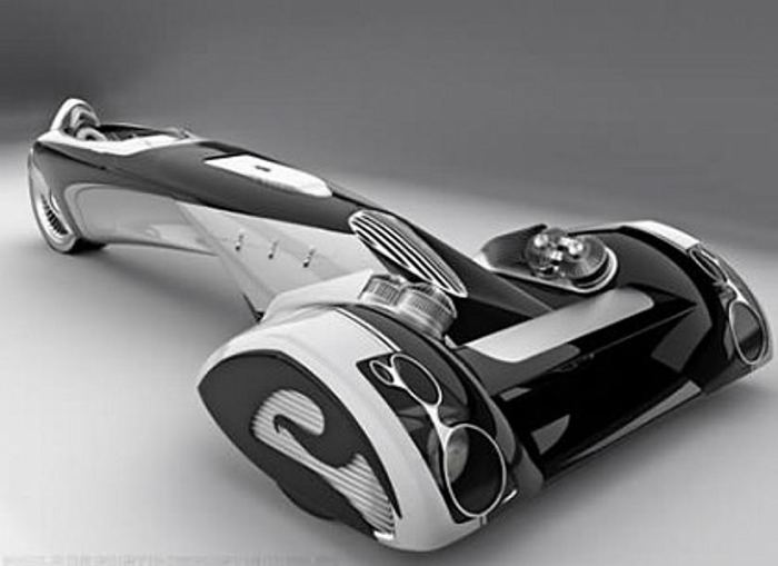 Peugeot Egochine Concept Car.