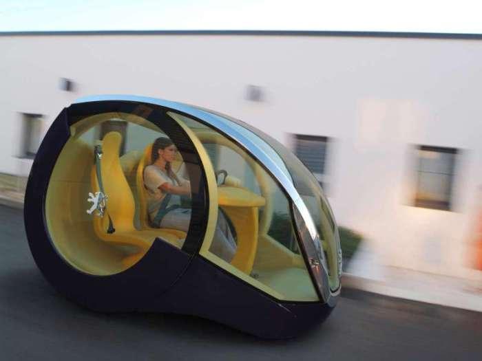 Peugeot Moovie Concept Car.