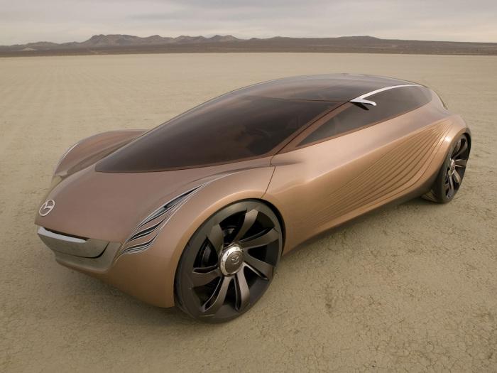 Mazda Nagare Concept Car.
