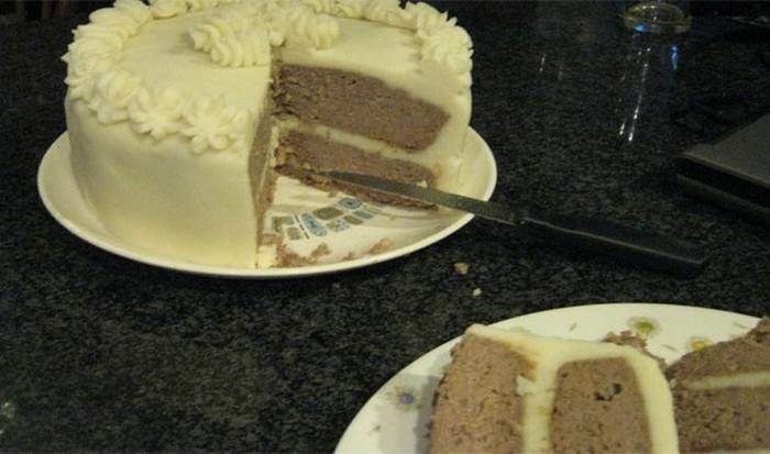 Мясной пирог.