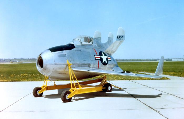 Очень странный самолет. |Фото: en.wikipedia.org.