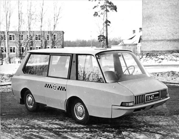Интересная машина. |Фото: taxilife.ru.