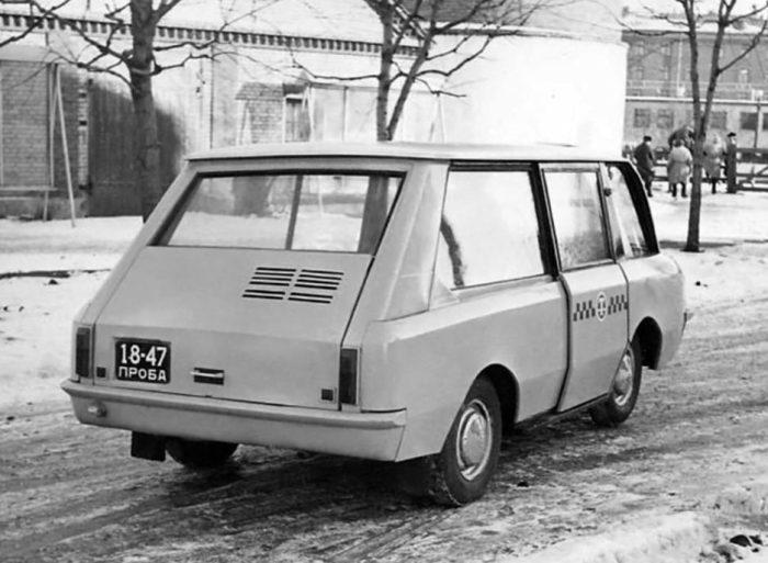 Вот такое транспортное средство. |Фото: pastvu.com.