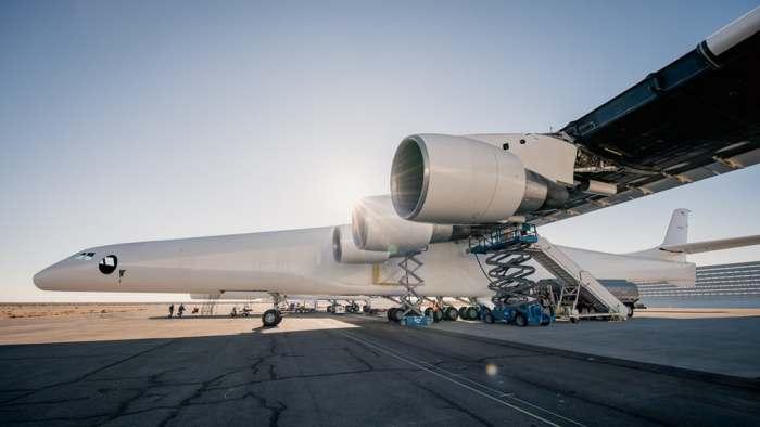 Большая турбина для большого самолета.