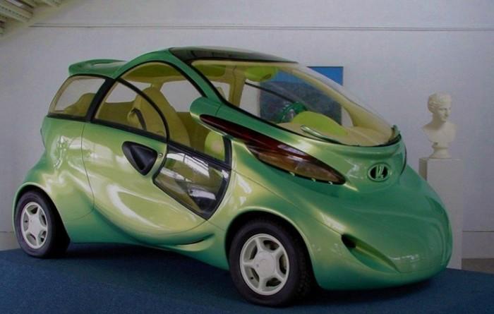 Смелая модель Lada «Рапан» из России.