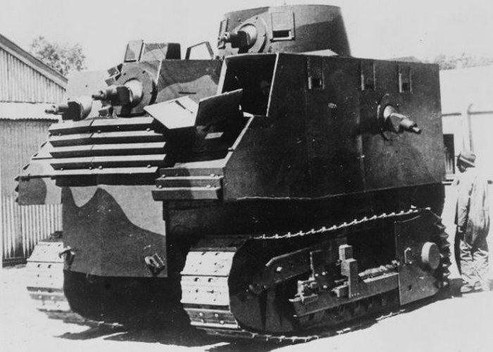 Бульдозер-танк «Caterpillar».