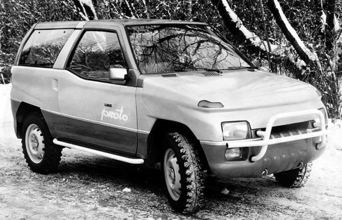 Автомобиль НАМИ Луаз «Proto».