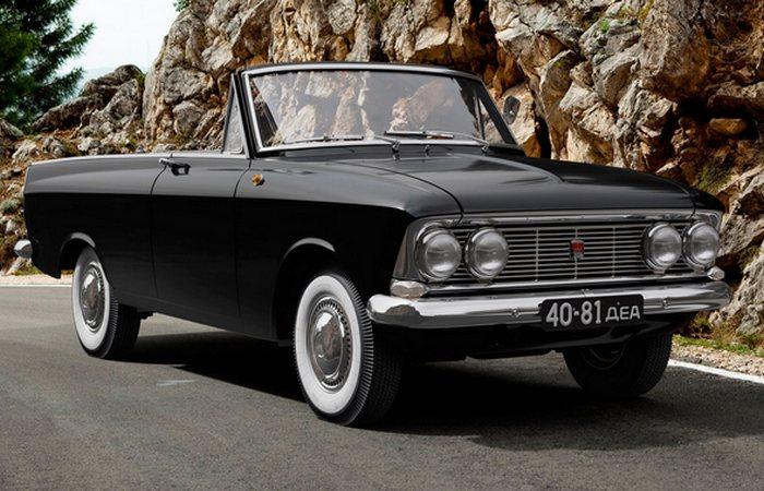 Автомобиль Москвич 408 «Турист».