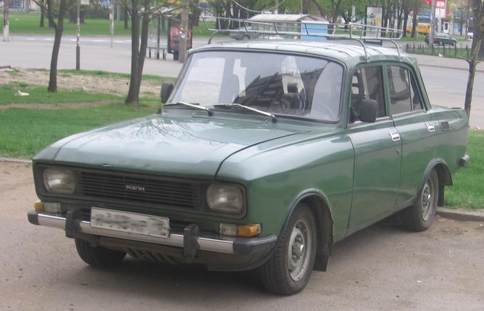 Автомобиль Москвич-412.
