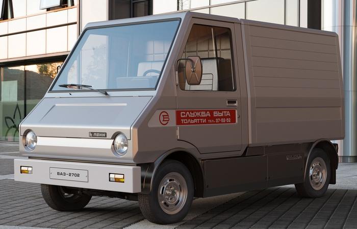 Автомобиль ВАЗ-2702 «Пони».