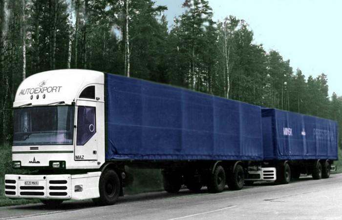 Автомобиль МАЗ-2000 «Перестройка».
