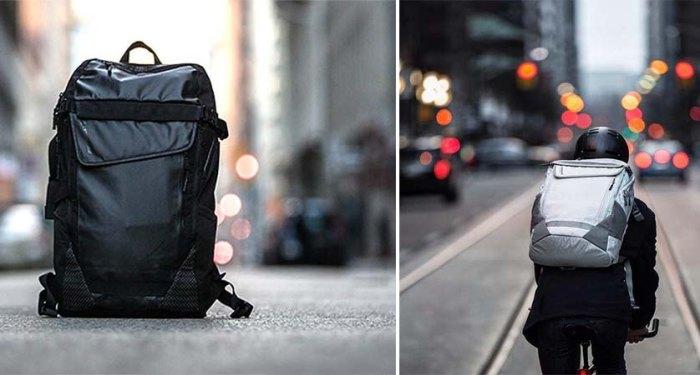 Especial Medio Backpack – рюкзак, созданный специально для велосипедистов.