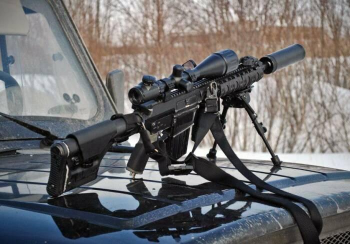 Интересная модель винтовки на экспорт. |Фото: forum.rsload.net.