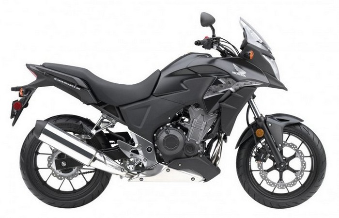 Honda CB500X - универсальный байк.