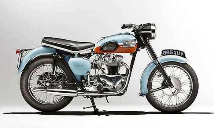 Мотоцикл 1959 Triumph T120 Bonneville.