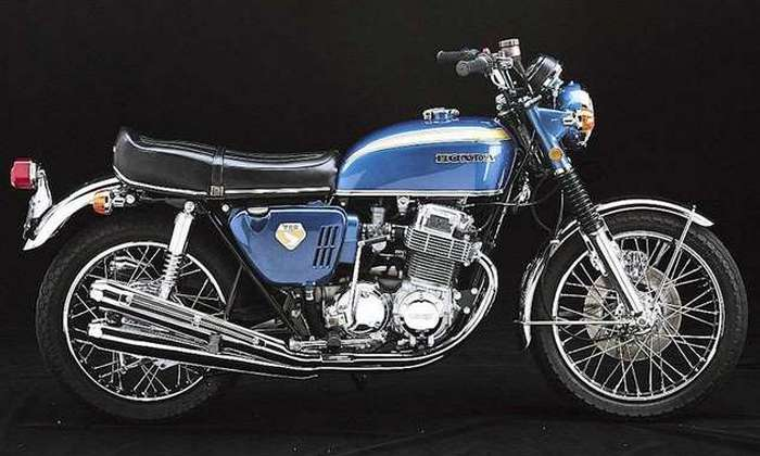 Мотоцикл Honda CB750.