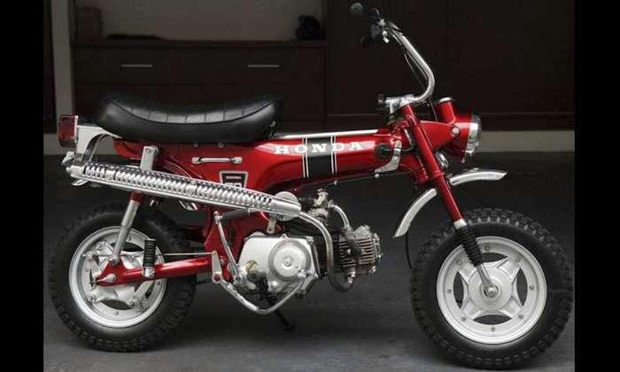 Мотоцикл Honda CT70 TRAIL.