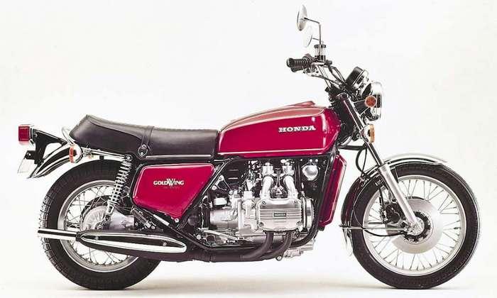 Мотоцикл Honda GL1000 Gold Wing.