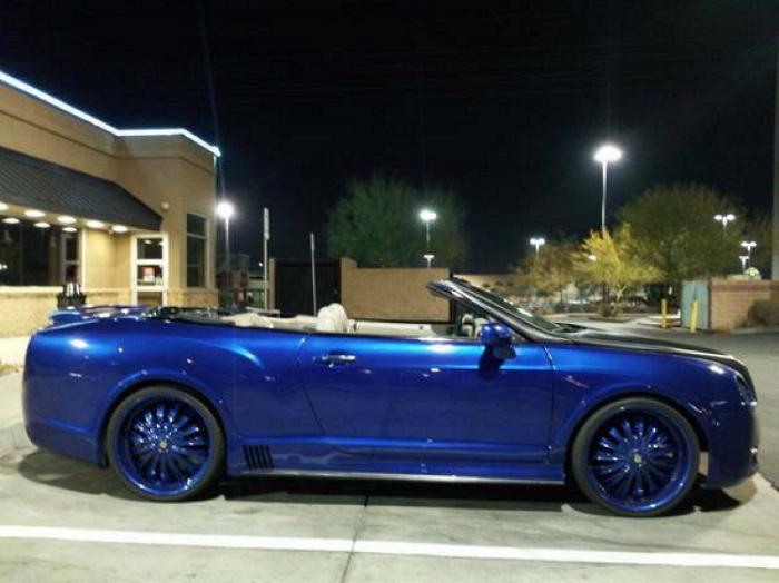 Bentley плюс Chrysler Sebring/300C.