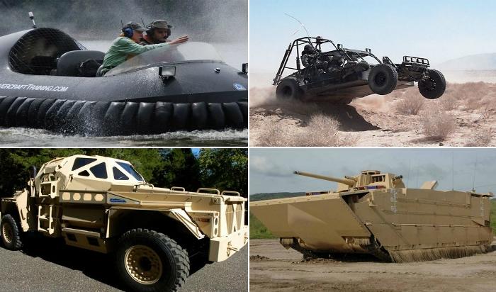 25 образцов военной техники для любителей настоящего хардкора.