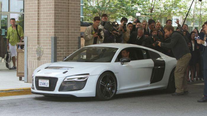 Audi R8 E-Tron Железного Человека.