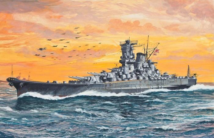 Суперлинкоры Японии внушали морякам страх и трепет.